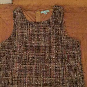 She + Sky sleeveless back zipper tunic large